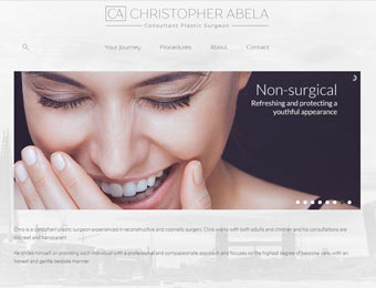 Chris Abela : Consultant Plastic Surgeon website