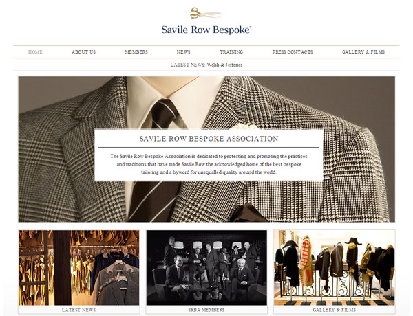 Savile Row Bespoke Association